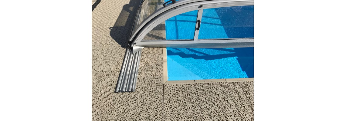 PVC dielce k bazénom, na terasy