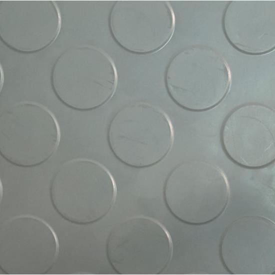 BG Gumená v rolkách s peniažkovým vzorom Sivá 5mm