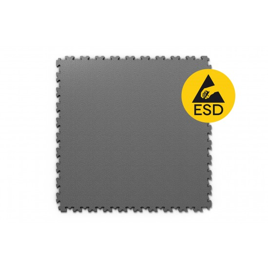 FL ESD Heavy Duty Leather Anthrazit 7 mm