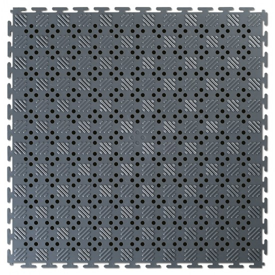 EL Lock Mat OPEN Recycled Grey 14mm