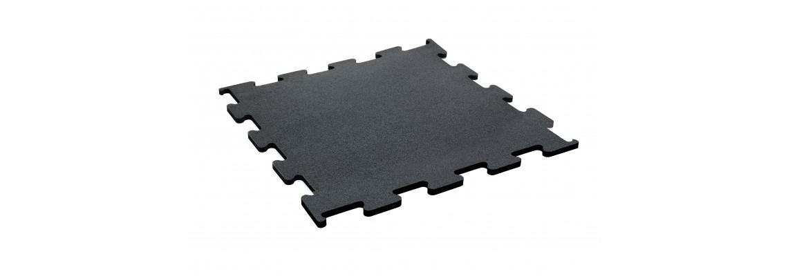 Gumové podlahové dielce v puzzle prevedení 6mm