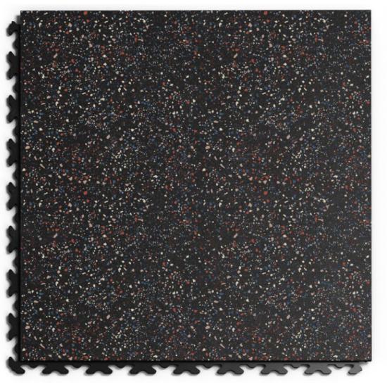 FL Masked Leather Granit 04 Eco Black 6.7mm skrytý zámok