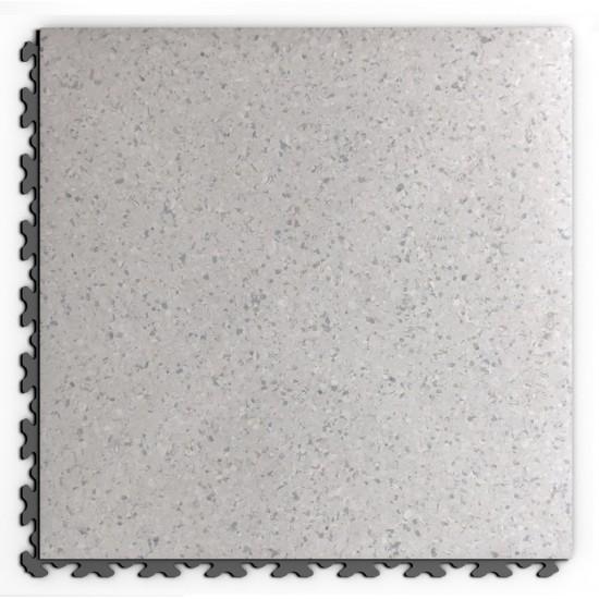 FL Masked Leather Decor Grey Stone 6.5mm skrytý zámok