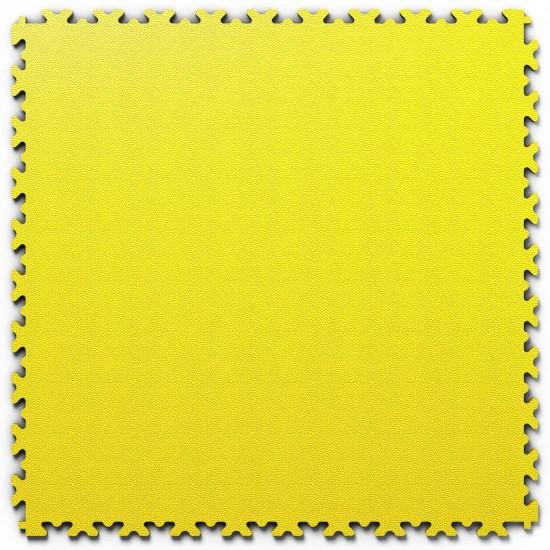 FL Heavy Duty Leather Yellow 7 mm