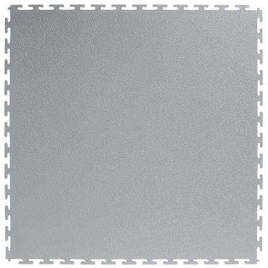FT Heavy Duty Textured Recycled Light Grey 7mm