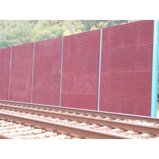 RE Panel na protihlukové steny Red 60mm