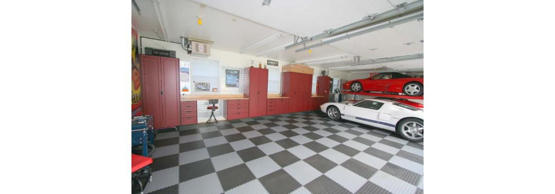 Odolná podlaha do gáraže či dielne