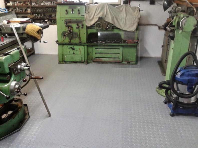 odolná podlaha do dielne