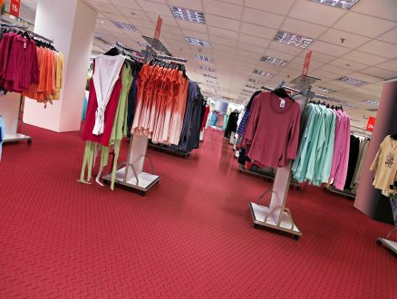 gumená podlaha do komerčných priestorov