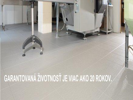 hygienické odolná podlaha