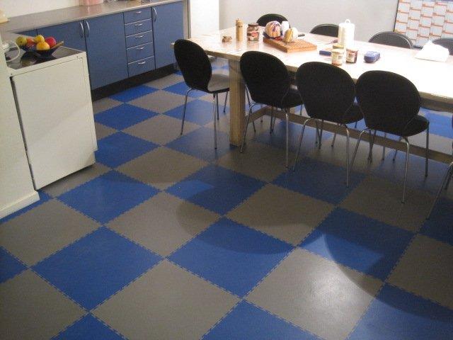 kuchynská podlaha