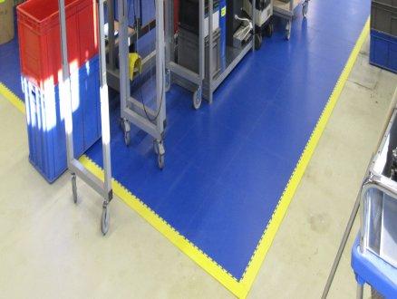 odolná gumená priemyselná podlaha